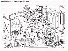 alpha he 25 lpg boiler assembly diagram heating spare parts