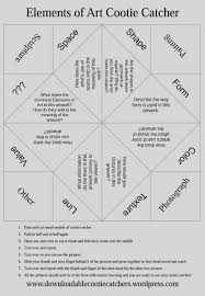 Perfect Cootie Catcher Template Model - Examples Professional Resume ...