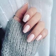 36 simple creamy um length nail design