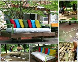 wood pallet furniture ideas. VIEW IN GALLERY Outdoor-Pallet-Furniture-DIY-ideas-and-tutorials9 Wood Pallet Furniture Ideas