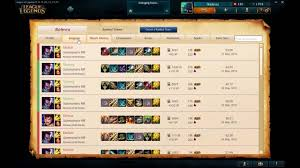 Match history -- League of Legends ...