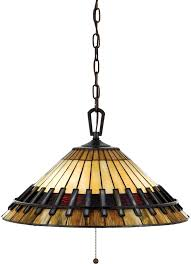 chastain arts and crafts style 3 light