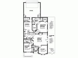 strikingly ideas one story house plans for narrow lot 12 plan on