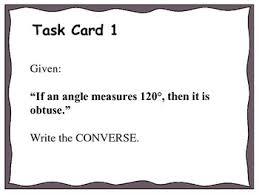 Venn Diagram Syllogism Geometry Unit 2 Task Cards Review Logic Venn Diagrams Syllogism Detachment
