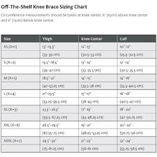 Donjoy Knee Brace Size Chart Donjoy Se 4pt Acl Knee Brace For Left Leg