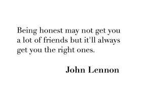 quotes about honesty in friendship