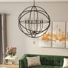 willa arlo interiors gregoire 6 light candle style chandelier reviews wayfair