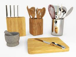 kitchen utensils. Kitchen Utensils Set 3D Model