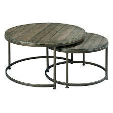 hammary baja round coffee table round nesting cocktail tables in coffee table decor round coffee table