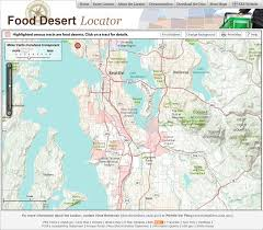new food desert locator from the usda  goodfood world