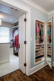 maximize your full length mirror with built in accessory storage