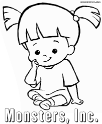 Monsters Inc coloring pages | Coloring pages to download and print