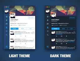 Mac Theme Switch Between Dark Light Theme In Twitter For Mac How To