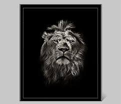 fullsize of masterly black lion painting wall art on canvas animal printedposters bathroom wall art wall  on bathroom wall art black and white with masterly black lion painting wall art on canvas animal