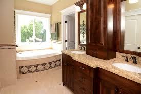 master bathroom designs on a budget. Interesting Bathroom Bathroom Contemporary Design Wooden Vanity With Upper  Also Small Square Mirror Decor Ideas Master In Bathroom Designs On A Budget G