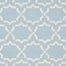cool light blue area rug safavieh moroccan light blueivory reversible dhurrie wool area