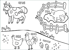Free Farm Coloring Pages At Getdrawingscom Free For Personal Use