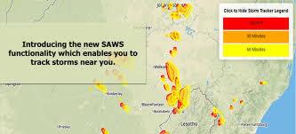 Weather Sa Synoptic Chart Saws Home Weathersa Portal