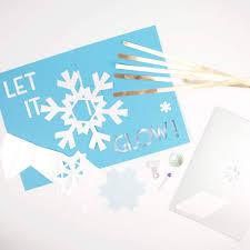 Diy Light Up Greeting Card Amazon Com Diy Light Up Pop Up Card Kit Snowflake
