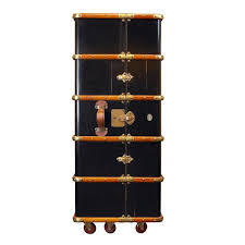 bar trunk furniture. cocktail bar stateroom vintage trunk black allissias attic u0026 french style furniture l