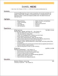 Medical Coder Resume Sample Medical Billing And Coding Resume Examples For The Objective 24