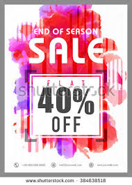 Sales Pamphlets Vector Images Illustrations And Cliparts End Of Season