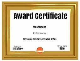 Funny Awards At Work Silly Award Awards For Adults Best Free Printable