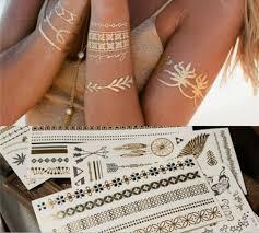 купить за 4 899 тг набор временных флэш татуировок Shimmer Jewelry