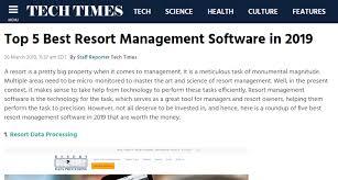 Timeshare Software For Fractional Properties Resort Data