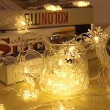 outdoor xmas lighting. 2 Colors Acrylic Snowflake LED Light Decoration For Home Waterproof String Lights Outdoor Xmas Lighting Strings H