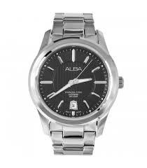 buy alba watches best price singapore usa alba sapphire made by seiko black dial mens watch axhl15x1