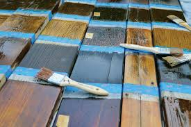 the great stain shoot out professional deck builder finishes and surfaces decking wood