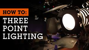 lighting set. how to set up 3point lighting for film video and photography youtube s
