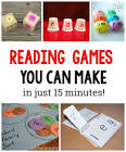 reading and writing games