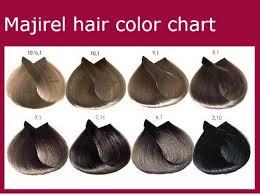 Loreal Majirel Color Chart Pdf Majirel Hair Color Chart Sbiroregon Org