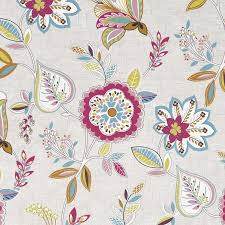 Octavia Curtain Fabric in Summer | Stocked Items Available Next Day |  Terrys Fabrics UK