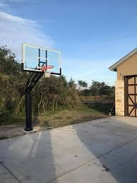 pro dunk hoops. Image May Contain: Basketball Court, Sky And Outdoor Pro Dunk Hoops P