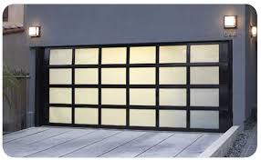 image of insulated glass garage doors ideas