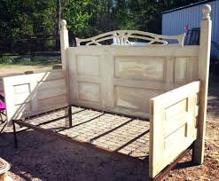a homemade day bed made out of doors anyone got any unwanted doors for me