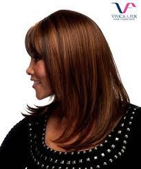 Vivica Fox Hair Color Chart Vivica Fox Full Wig H201 Human Hair Stretch Cap Full Wig