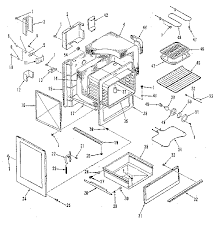 kenmore stove parts. 91193588 electric range body section parts diagram kenmore stove t