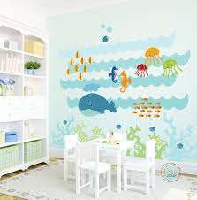 Kids Wall Decal Under The Sea Extra Large Nursery by UrbanTickle ...