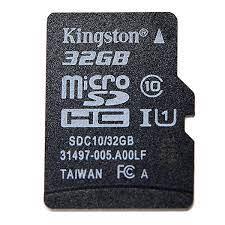 Thẻ nhớ Kingston 32Gb - Máy Tính Tam Kỳ | Công ty CP TM DV Huỳnh Gia Phát