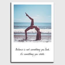 4 Postkarten Set Yoga Inspirierende Sprüche Zitate Und Bilder Im