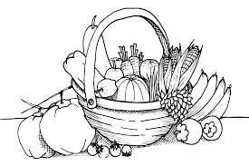 Coloring pages for kids fruits and vegetables coloring pages. Garden Vegetable Coloring Pages