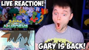 GARY IS BACK! Pokemon Journeys   Opening 3 Review & Reaction! - YouTube