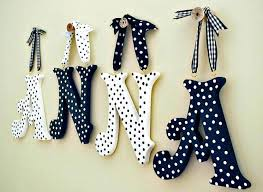 wooden letters decoration letter designs decorative for walls best nursery ideas