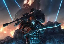 solr knife military sniper halo halo reach hd wallpaper desktop