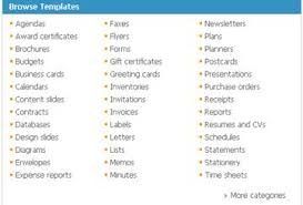 Microsoft Office Tamplates Microsoft Office Templates For Just About Everything