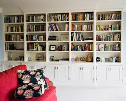 home office bookshelf. Painted Bookcase Traditional Home Office Bookcases White Colour With Mmany Books And Some Modern Decorations Inside Bookshelf O